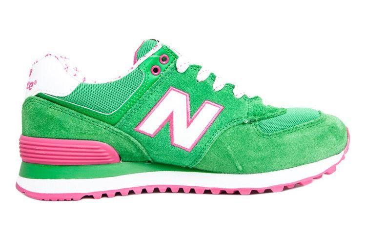 info for fe9d6 59d1c new balance 574 green pink