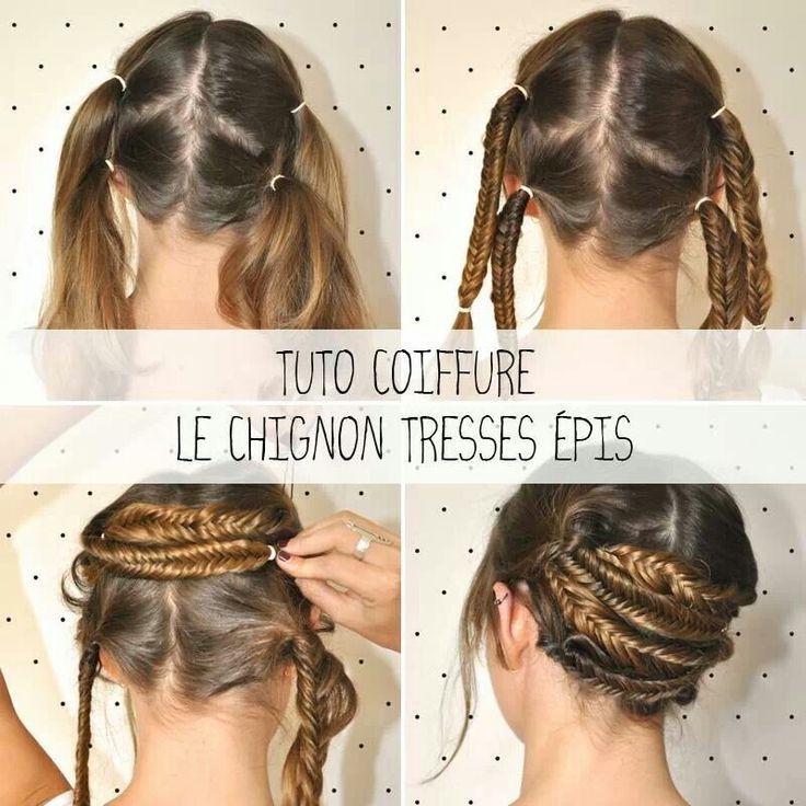 #peinado #recogido #trenza #braid #updo
