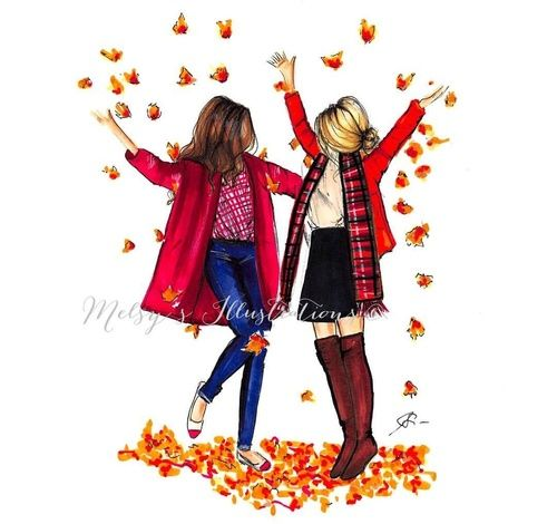 Autumn 🍁 _ drawing by Melsy  on We Heart It