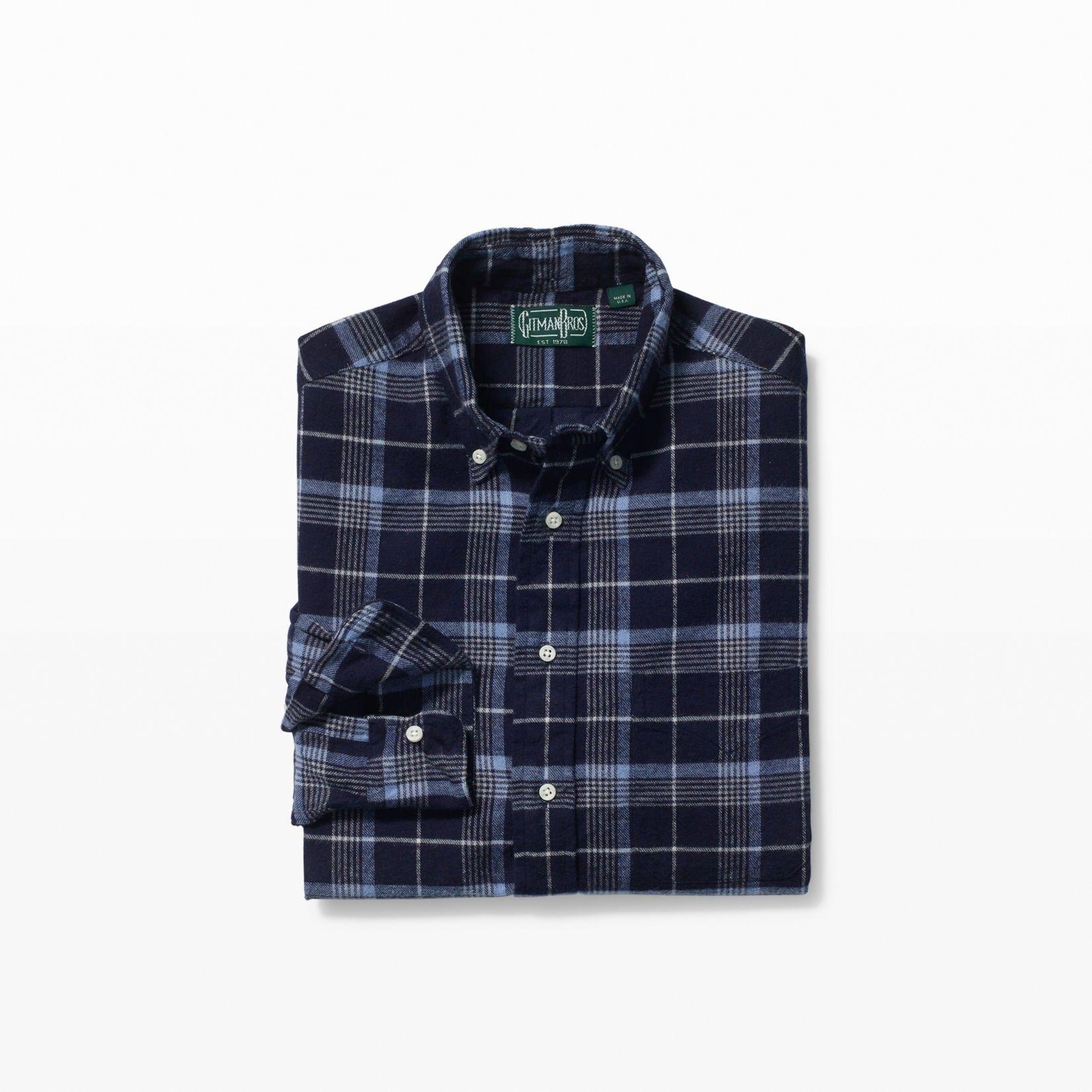 Flannel shirt with khaki pants  CLUB MONACO Gitman Flannel Shirt clubmonaco cloth   Club Monaco