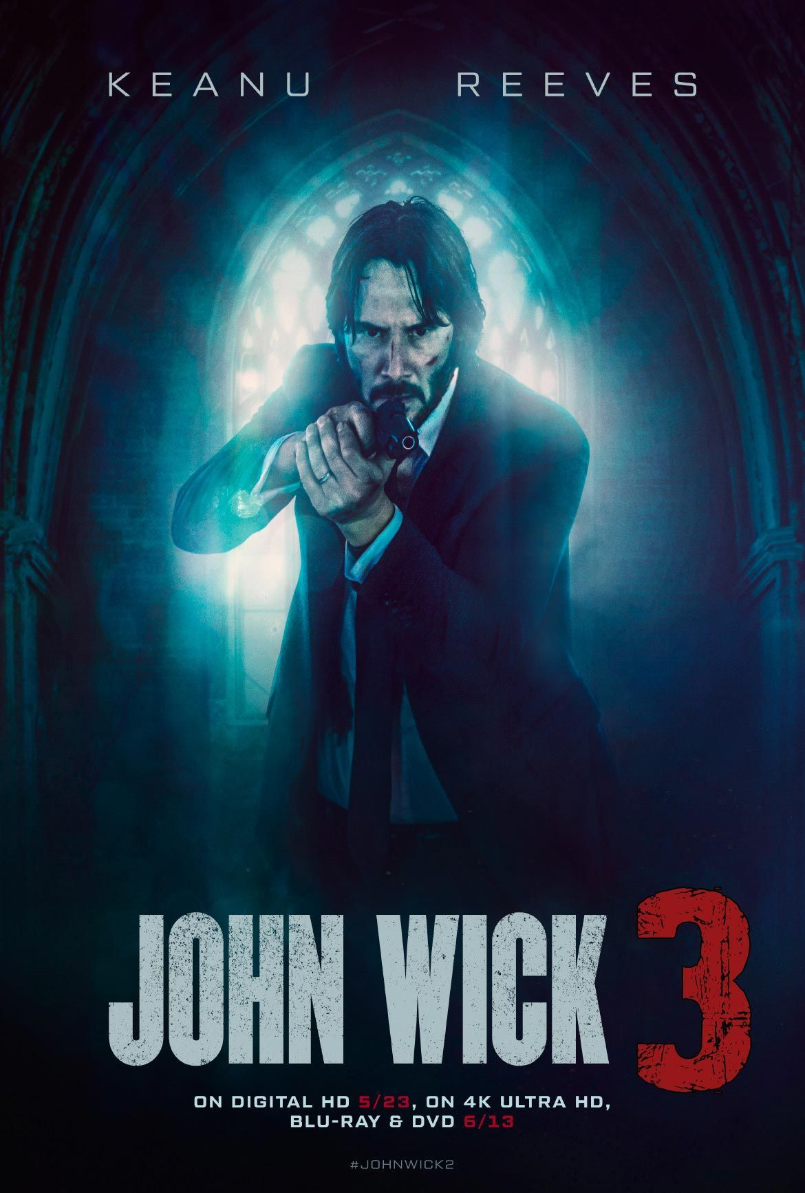 Watch John Wick Chapter 3 Parabellum Full Streaming Movie Onlinefree Aksiyon Filmleri Film Film Posteri
