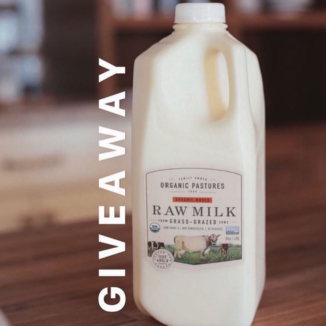 Last day to PLAY: Back-to-school GIVEAWAY || How to play: Like our organicpasturesdairy page this post Tag 5 friends in the comment section ....Extra credit Share in stories and tag us so we can see:)... In this giveaway: organicpasturesdairy 4 half gallons, 1 winner will be randomly chosen on 9.15.19 and shipped UPS