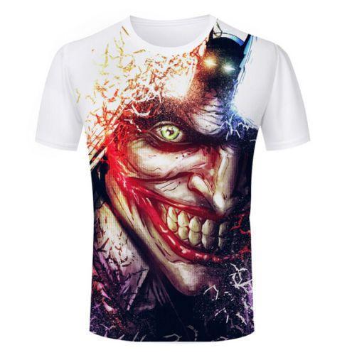 New Fashion Women//Men/'s 3D Print Batman T-Shirts