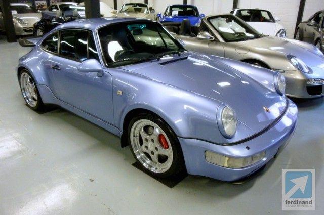 1994 Porsche 911 Turbo S 36 Flachbau
