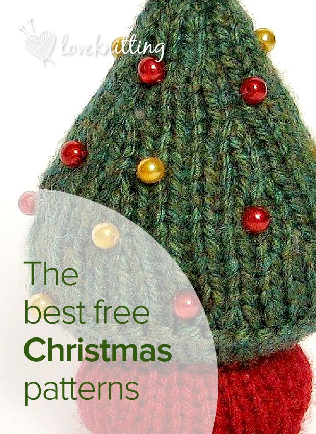10 Free Patterns To Get You Knitting This Christmas Lovecrafts Christmas Knitting Patterns Free Christmas Knitting Christmas Knitting Patterns