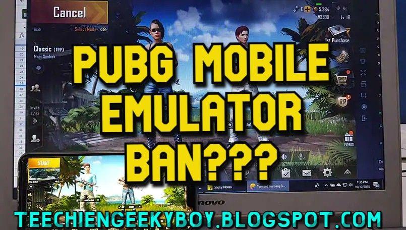 Pubg Mobile Emulator Ban Mobile Legend Wallpaper Mobile Legends Mobile Game