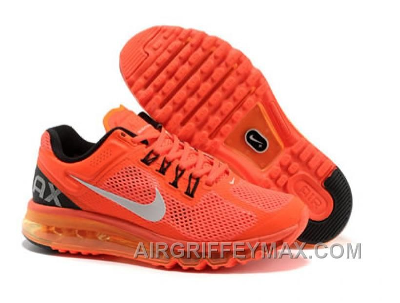 new style 9156c 18de6 Nike Air Max 2013 Bright Citrus White Anthracite Women s Running Shoes com  cheap nike shoes