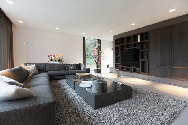 Kap berk moderne villa gelderland interieur wohnzimmer