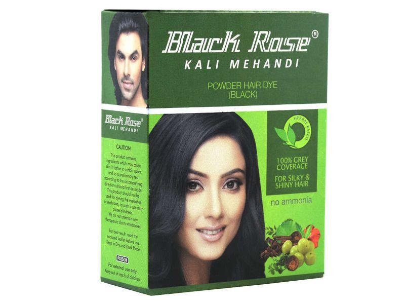 c3b6016d5 Black Rose 50g Kali Black Mehandi Henna Herbal Based Hair Dye Powder  #BlackRose