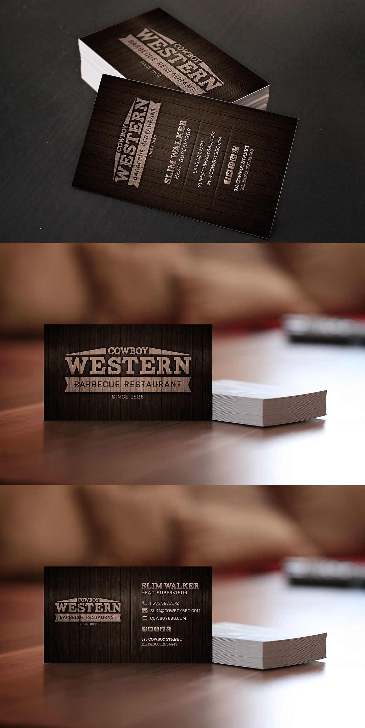 Wood bbq business cards logo template psd business card wood bbq business cards logo template psd reheart Image collections