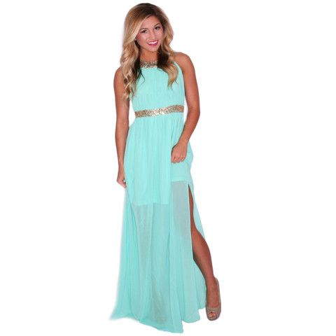 The Perfect Night in Mint | Impressions Online Women's Clothing Boutique