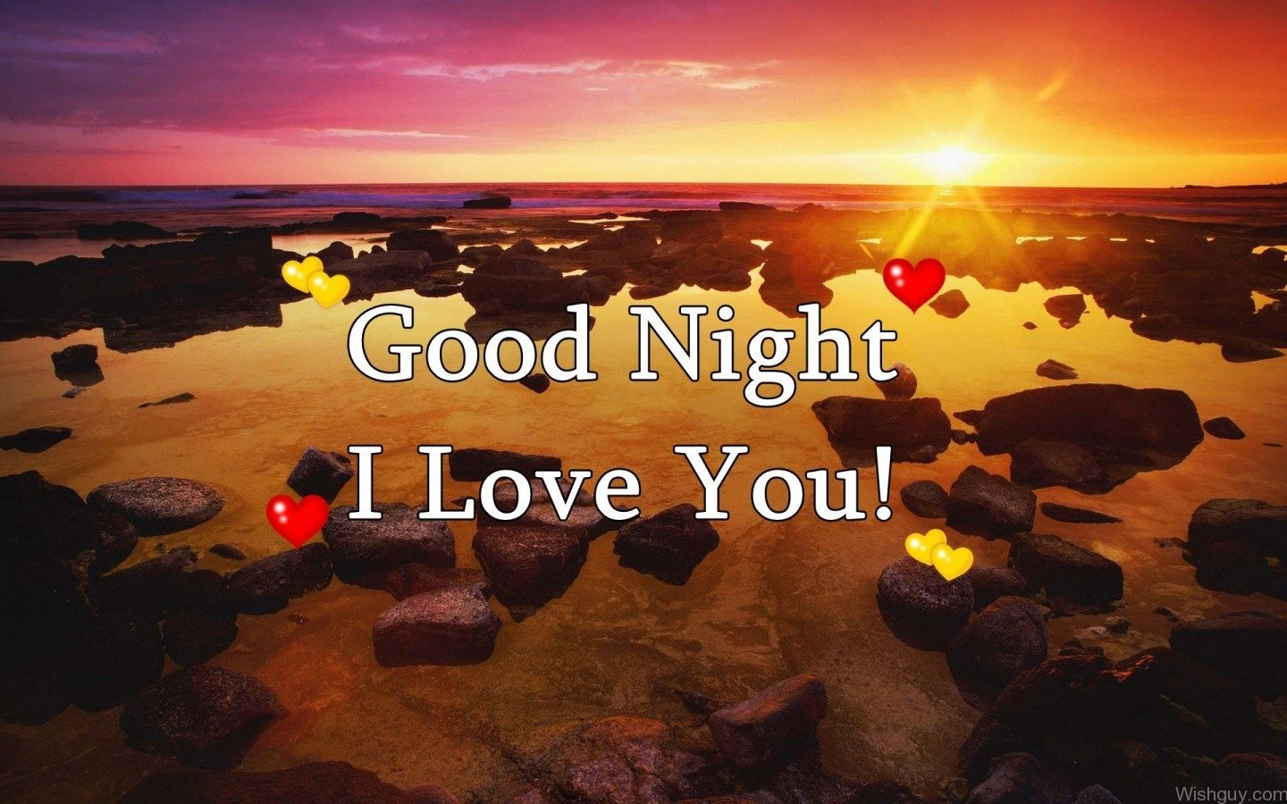 Good Night I Love You Wishes Greetings Pictures Wish Guy
