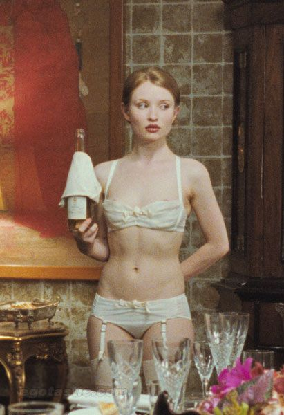 Emily Browning Blown Up Art
