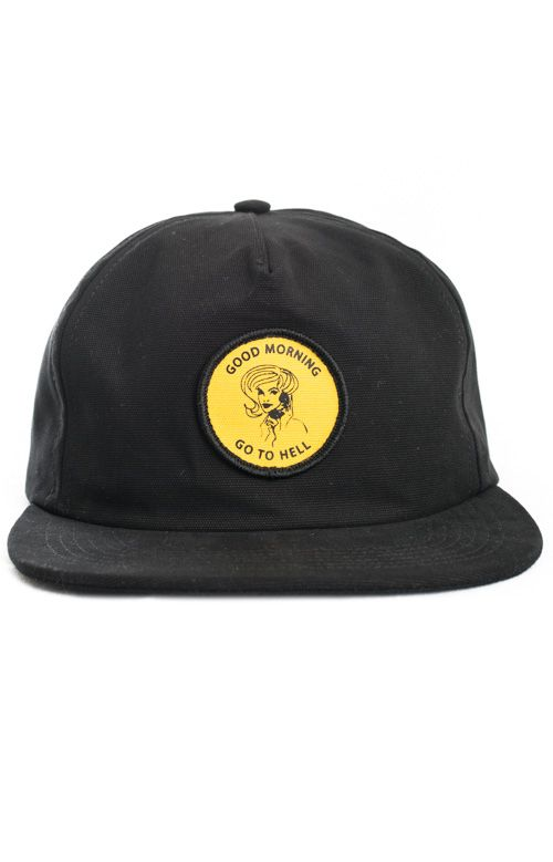 Good Worth Good Morning Strap Back Hat Mltd Hats Strap Backs