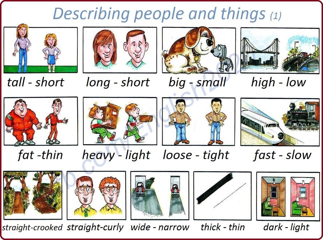 Image Result For Describing Pictures