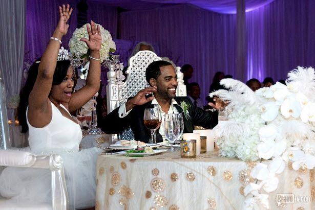 Inside Kandi Burruss S Wild Wedding More Photos From The Big Day Photos Kandi And Todd Wedding Album Celebrity Weddings