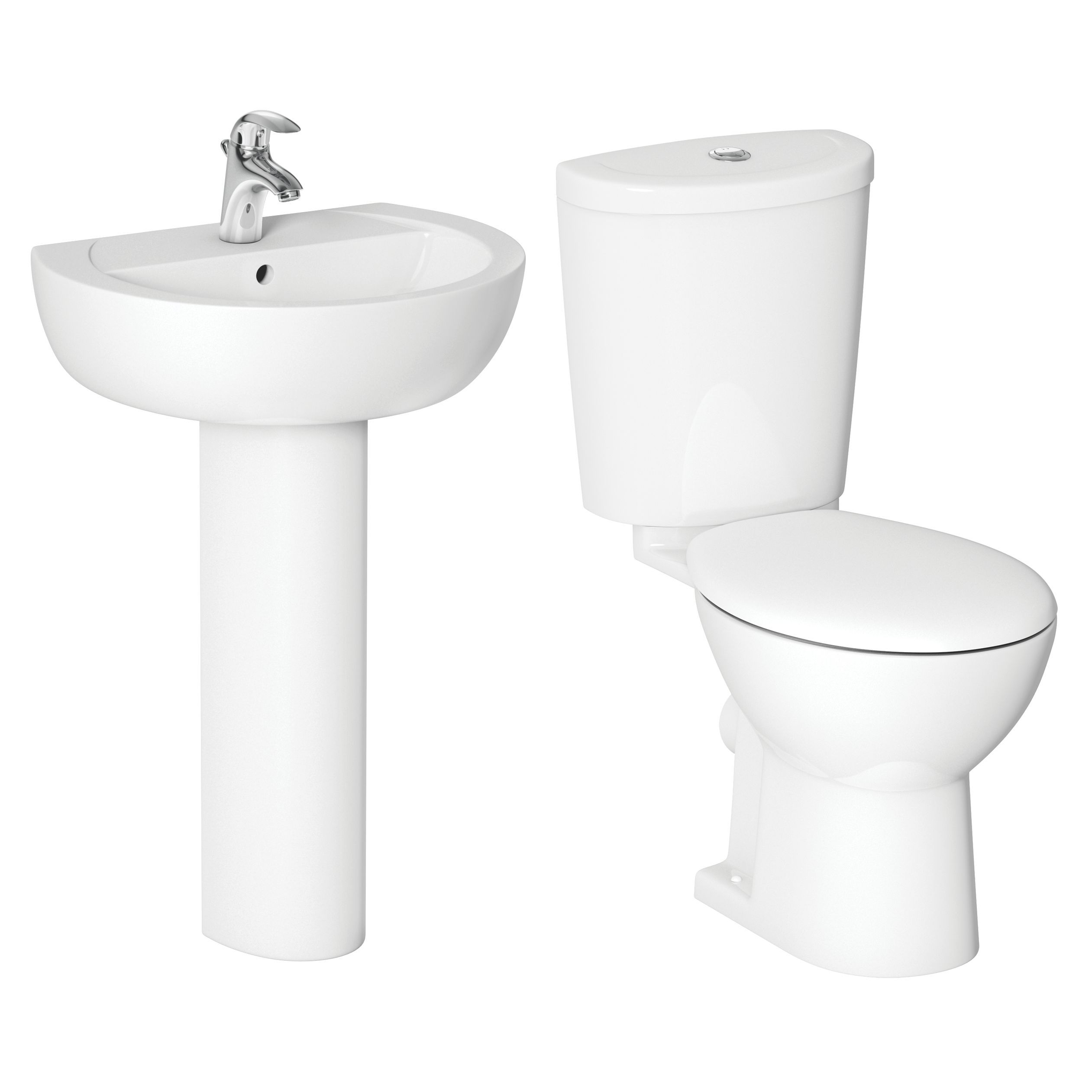 Bathroom Cabinets Uk Bq Cooke Lewis Alonso Toilet Basin Pack Departments Diy At