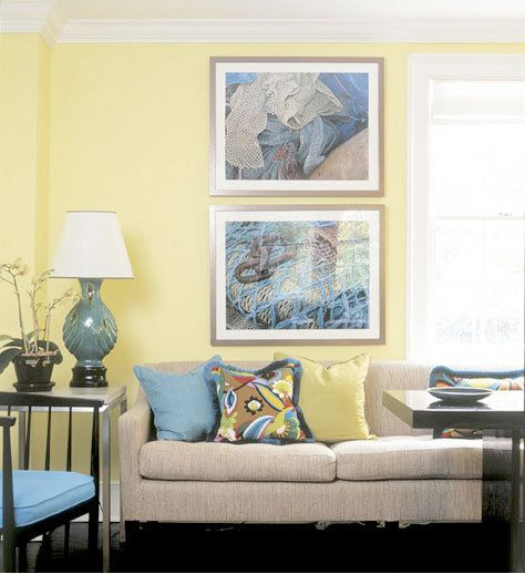 Roundup: Sunny Yellow Walls | Playrooms, Walls and Future