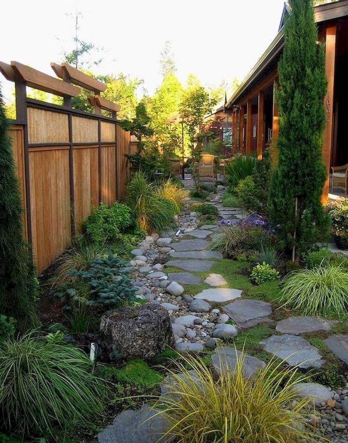 50 Fabulous Side Yard Garden Design Ideas And Remodel (5 #sideyards