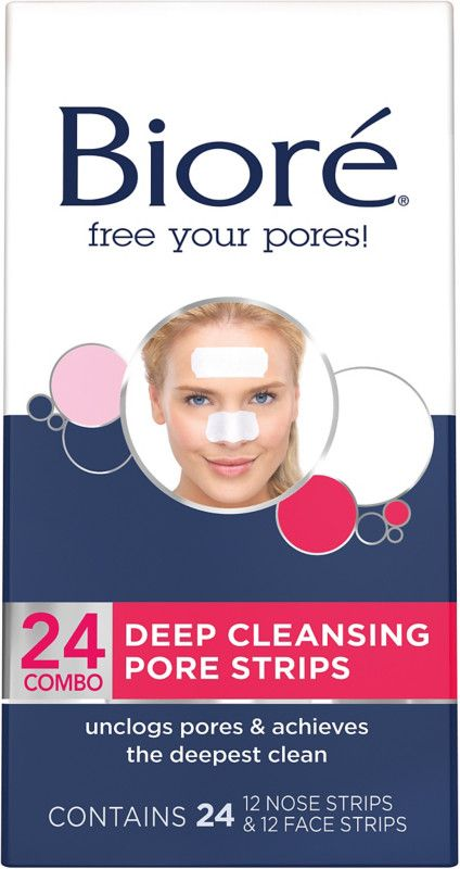 Biore Deep Cleansing Pore Strips Pore Strips Nose Strips Best