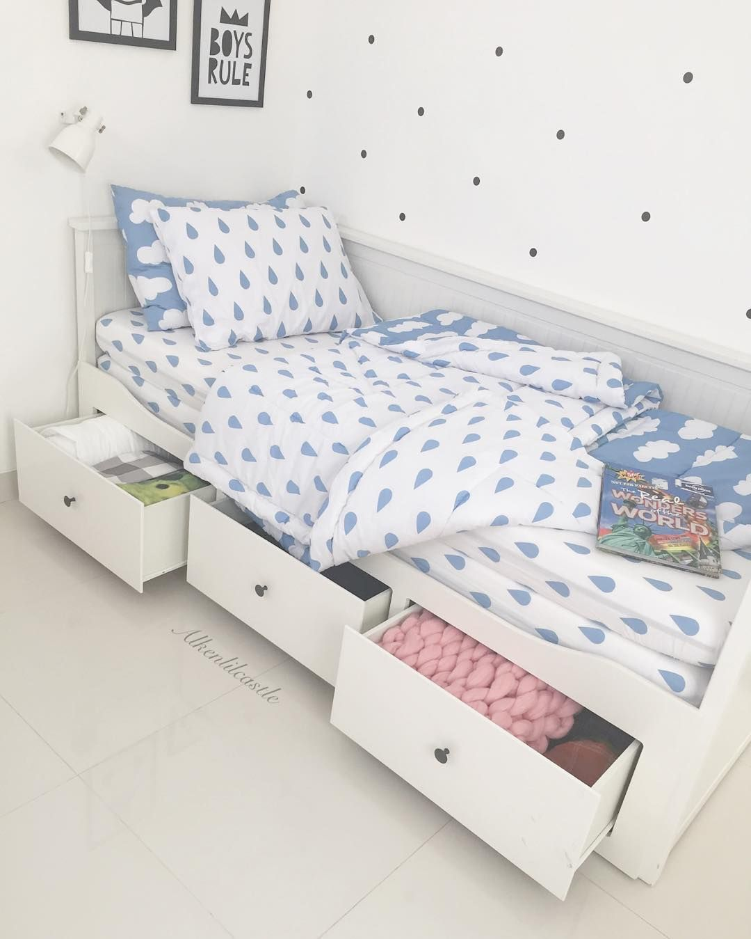 desain kamar tidur anak laki laki sederhana namun modern | dekorasi