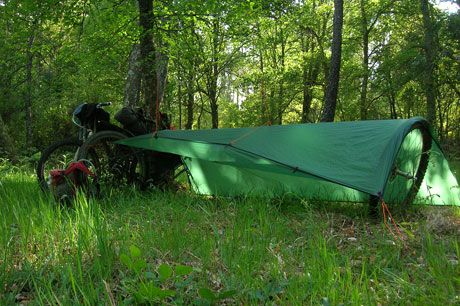 Bikepacking With Tarp