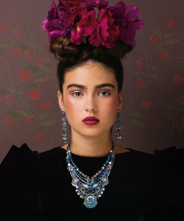 Frida Kahlo Makeup, Frida Kahlo Costume, Mexican Costume, Mexican Party,