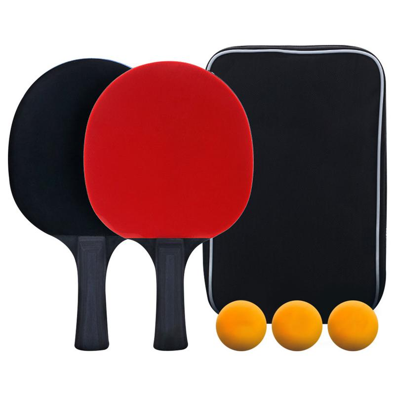 High Quality Table Tennis Racket Set Two Shot Three Ball Set Professional Competition Table Tennis Racket Feel Comfortable In 2020 Table Tennis Racket Tennis Racket Rackets
