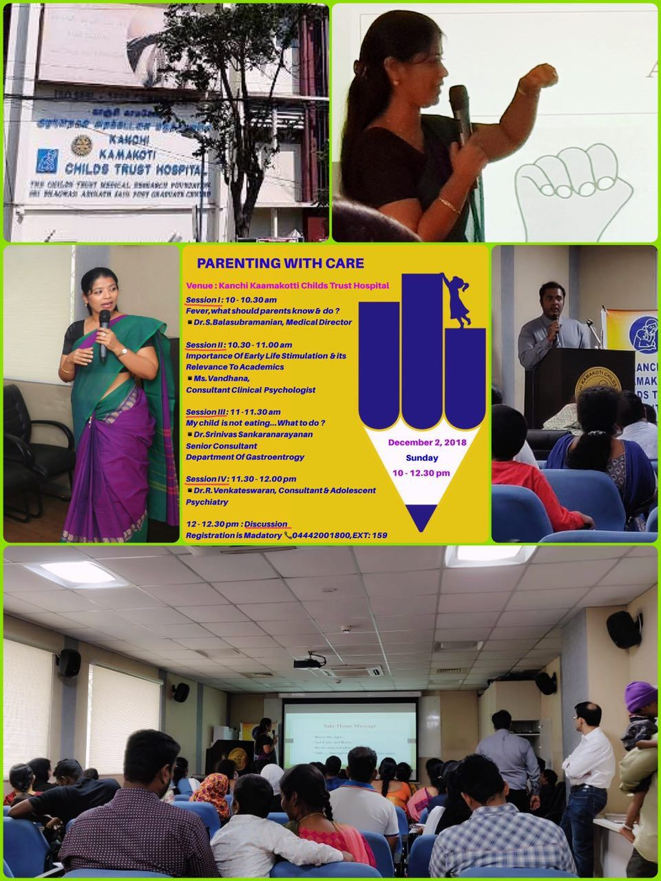 Ms.Vandhana, Clinical Psychologist addressed a group of