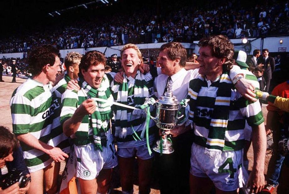 1988 Scottish Cup winners Celtic. Fa cup final, Fa cup