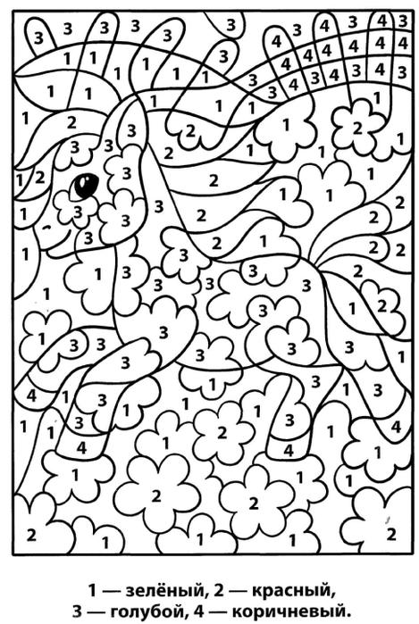 онлайн раскраска из цифр раскраски раскраска по номерам раскраска по цифрам