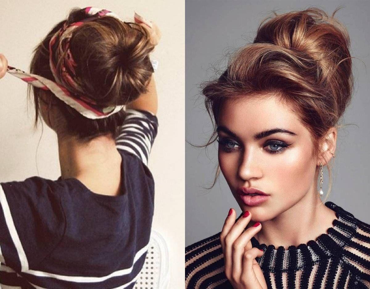 Easy Classy Donut Bun Hairstyles To Create Neat Image Hairstyles Donut Bun Hairstyles Bun Hairstyles Hair Styles