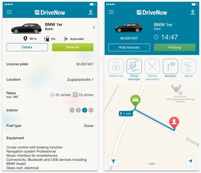 Image Result For Drivenow App App Image