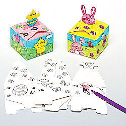 Easter colour in gift boxes for children to make decorate and fill easter colour in gift boxes for children to make decorate and fill with easter gifts negle Image collections