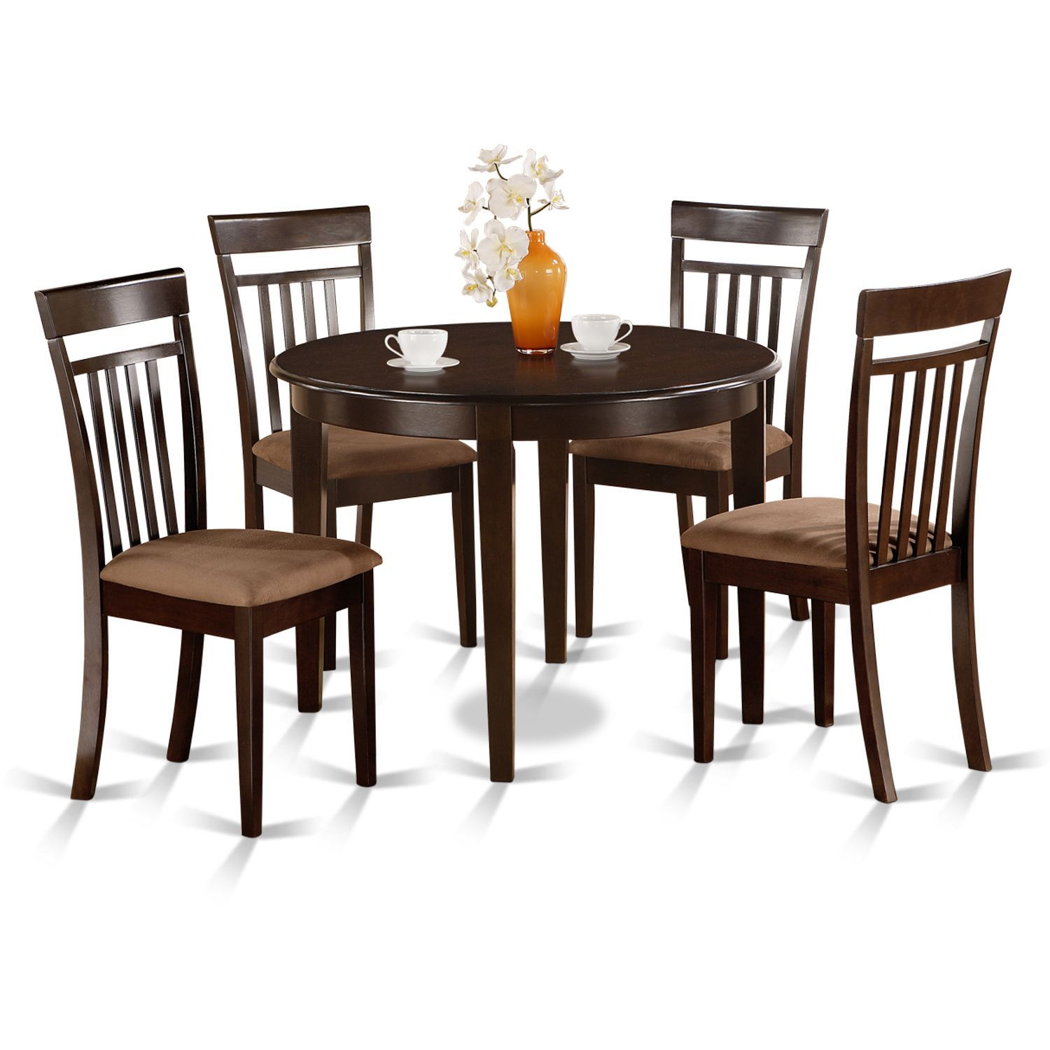Small round kitchen table  Small Round piece Kitchen Table and  Dining Chairs  Products
