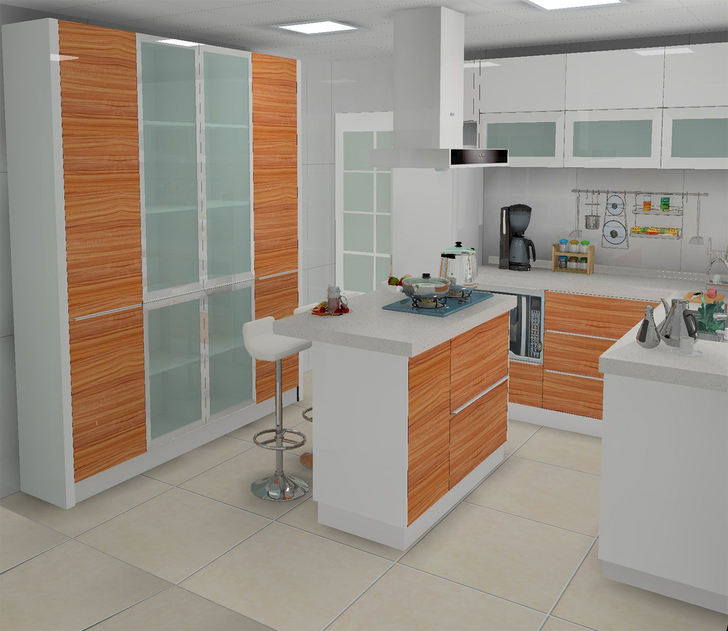 High Gloss Kitchen Cabinet Design Bedroom Wardrobe Design From Daban Kitchen Cabinet Design Gloss Kitchen Cabinets Kitchen Models