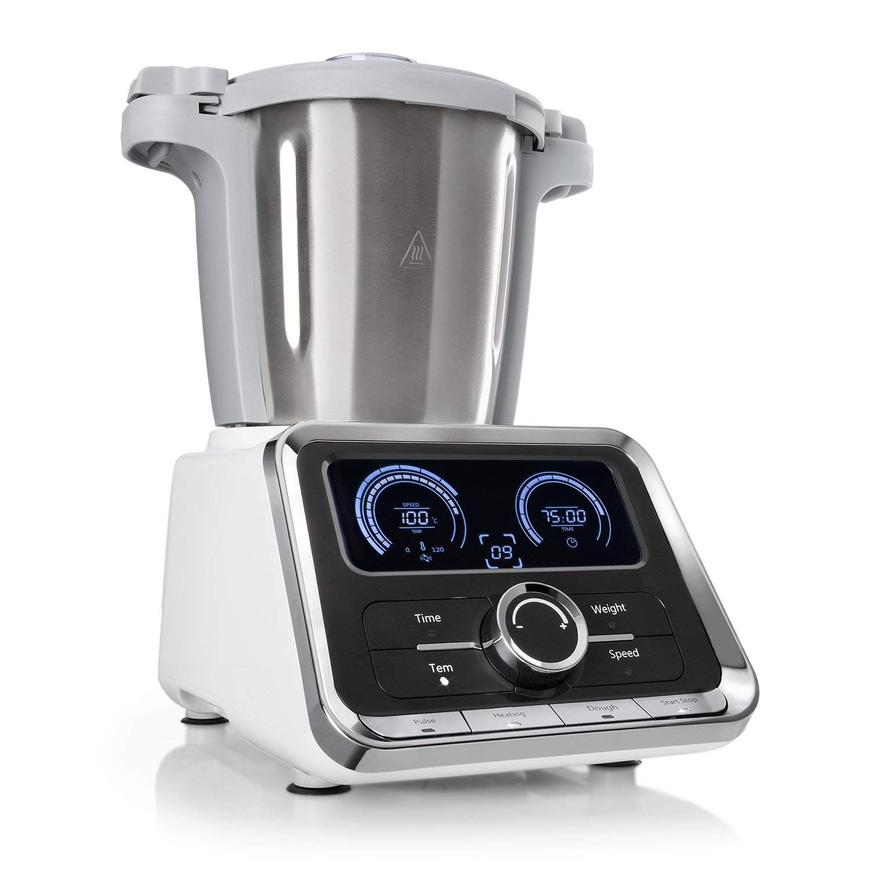 Klarstein Grandprix Robot Da Cucina Multifunzione Vaporiera 500 1000w Ciotola In Acciai Stainless Steel Mixing Bowls Food Processor Recipes Multicooker