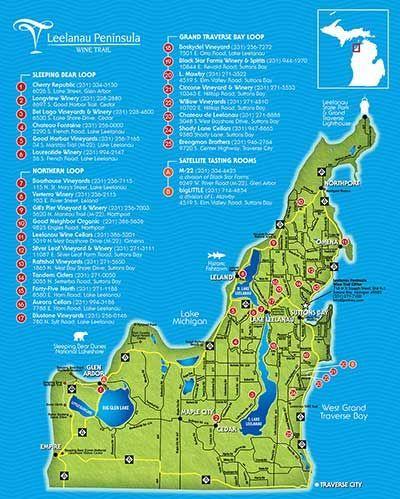 Traverse City Wineries | Leelanau Peninsula