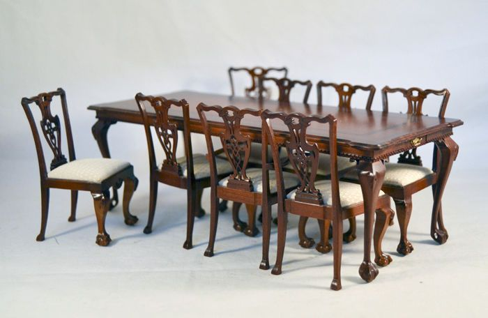 Ferb Sobel~Ltd Edition Legacy Collection 9 Piece Chippendale Stunning Chippendale Dining Room Set Inspiration Design