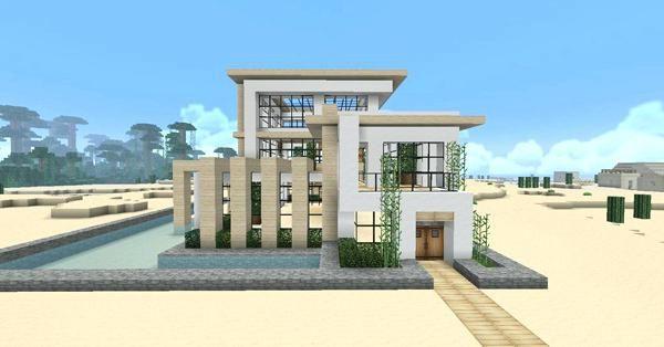 Modern minecraft house download also rh pinterest