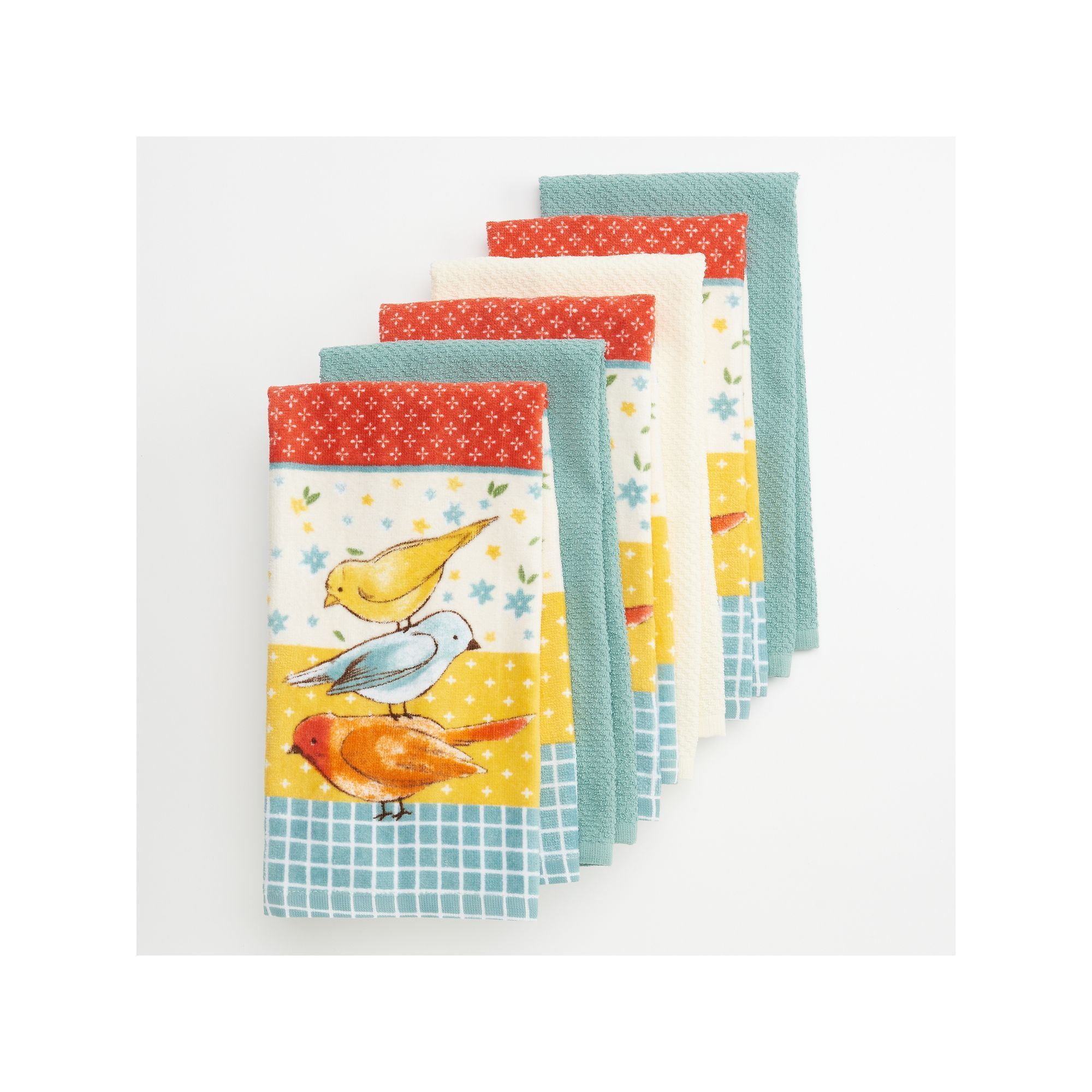 The Big One Bird Kitchen Towel 6 Pack