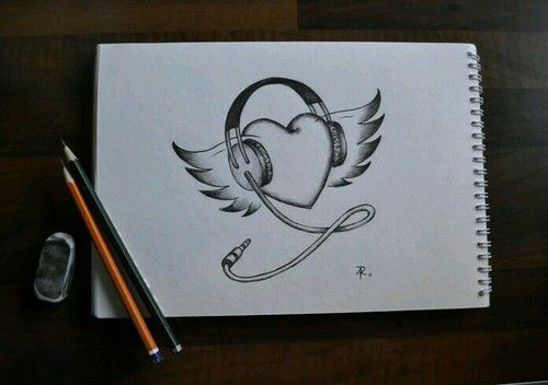 Shared by Linda **. Find images and videos about music, heart and draw on We Heart It - the app to get lost in what you love.