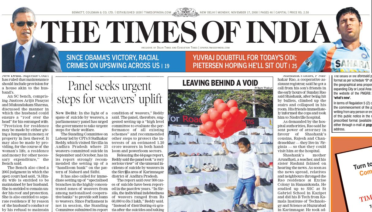 The Times of India (18382005) Available on ProQuest