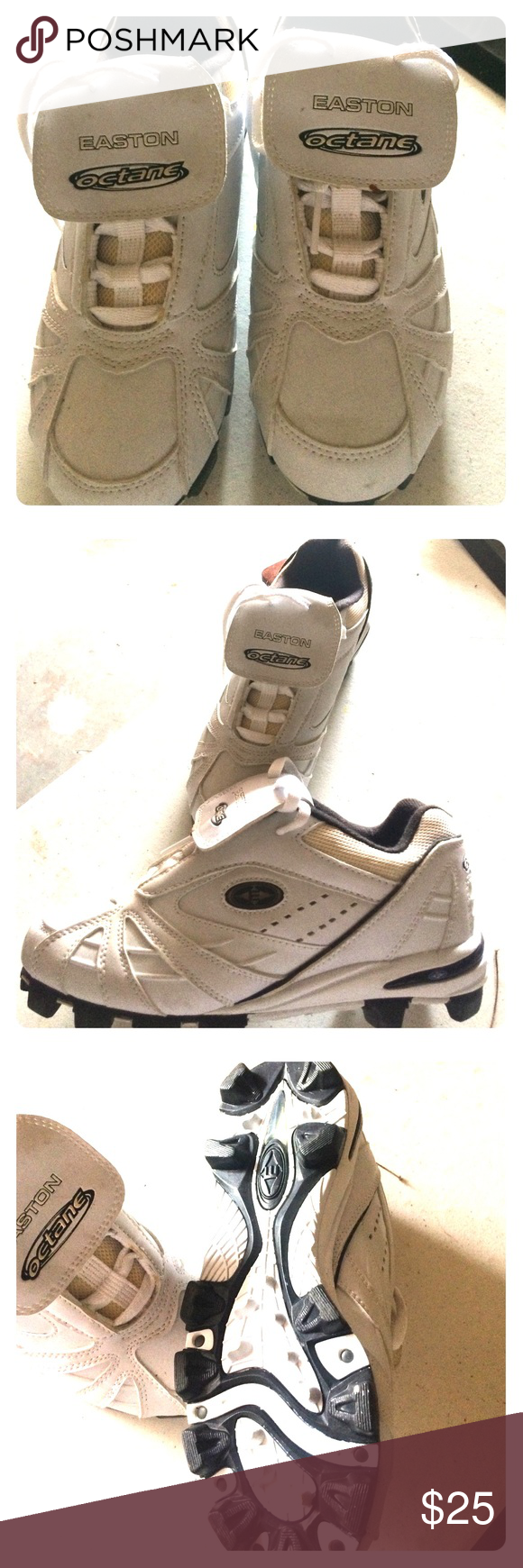 EASTON WOMENS BASEBALL CLEATS Brand New! Never worn size 8 Softball cleats Easton Shoes Sneakers