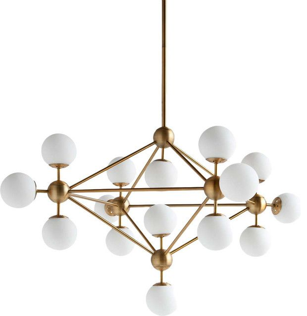 Pin by darren on home pinterest mid century chandelier palm lights aloadofball Image collections