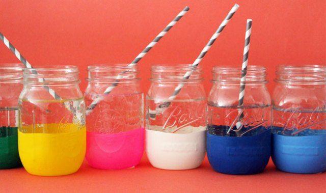 Refasion: Un globo + un vaso = Jarrón DIY