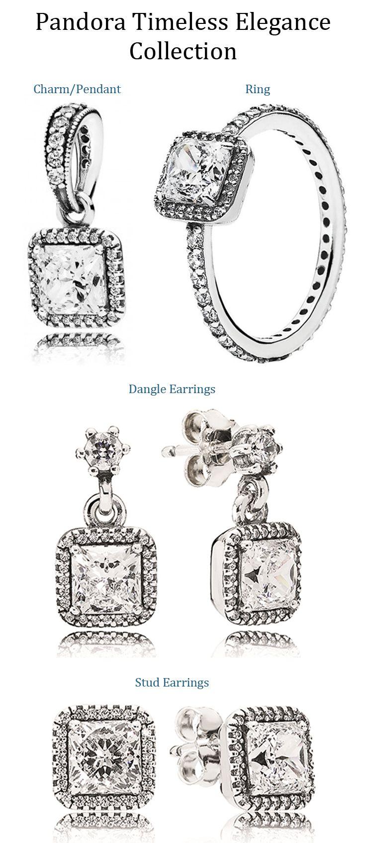 pandora timeless elegance collection available at exclusively diamonds pandora en 2018. Black Bedroom Furniture Sets. Home Design Ideas
