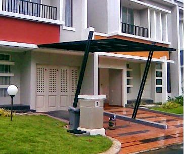 harga kanopi baja ringan atap polycarbonate pin di fotografi