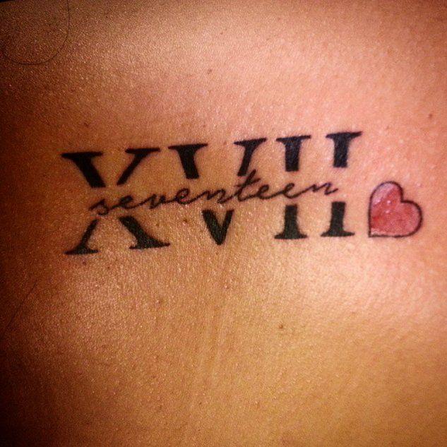 30 tatouages en chiffres romains pour marquer une date importante