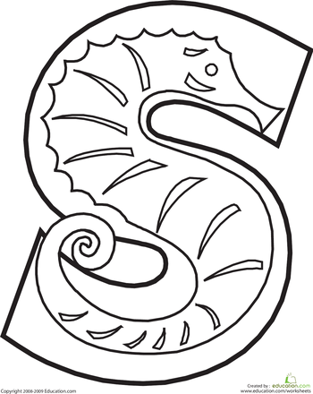 Letter S Coloring Page Animal Alphabet Alphabet Coloring Pages Animal Alphabet Letters